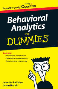 Behavioral Analytics for Dummies Jason Rushin Co-author