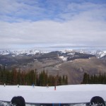 On top of the world in Vail, CO